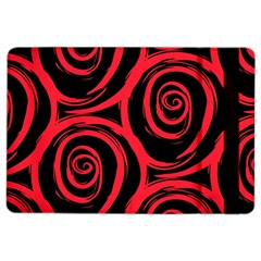 Abtract  Red Roses Pattern Ipad Air 2 Flip