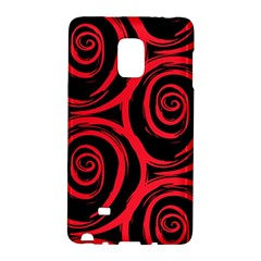 Abtract  Red Roses Pattern Galaxy Note Edge