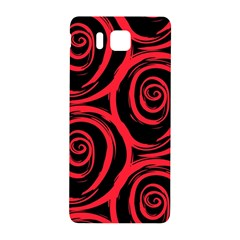 Abtract  Red Roses Pattern Samsung Galaxy Alpha Hardshell Back Case