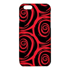 Abtract  Red Roses Pattern iPhone 6/6S TPU Case