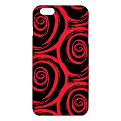 Abtract  Red Roses Pattern iPhone 6 Plus/6S Plus TPU Case