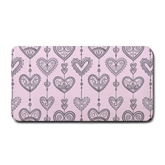 Sketches Ornamental Hearts Pattern Medium Bar Mats