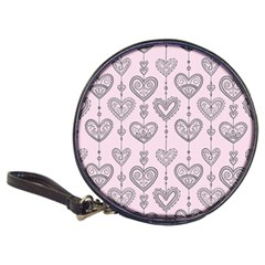 Sketches Ornamental Hearts Pattern Classic 20 Cd Wallets