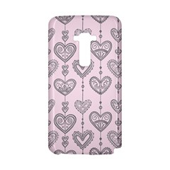 Sketches Ornamental Hearts Pattern LG G Flex