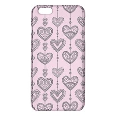 Sketches Ornamental Hearts Pattern Iphone 6 Plus/6s Plus Tpu Case