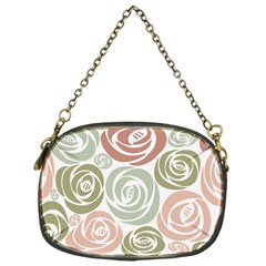 Retro Elegant Floral Pattern Chain Purses (one Side)