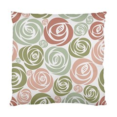 Retro Elegant Floral Pattern Standard Cushion Case (Two Sides)