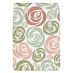Retro Elegant Floral Pattern Flap Covers (S)