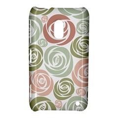 Retro Elegant Floral Pattern Nokia Lumia 620