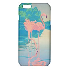 Two Pink Flamingos Pop Art Iphone 6 Plus/6s Plus Tpu Case
