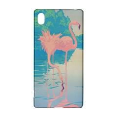 Two Pink Flamingos Pop Art Sony Xperia Z3+