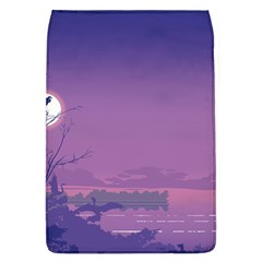 Abstract Tropical Birds Purple Sunset  Flap Covers (l)