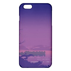 Abstract Tropical Birds Purple Sunset  iPhone 6 Plus/6S Plus TPU Case