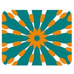 Tangerinerina Teliana Double Sided Flano Blanket (medium)