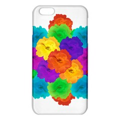Flowes Collage Ornament iPhone 6 Plus/6S Plus TPU Case