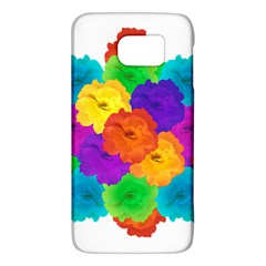Flowes Collage Ornament Galaxy S6