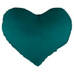 Tealiandro Large 19  Premium Heart Shape Cushions