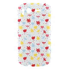 Seamless Colorful Flowers Pattern HTC Desire S Hardshell Case