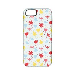 Seamless Colorful Flowers Pattern Apple Iphone 5 Classic Hardshell Case (pc+silicone)