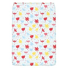 Seamless Colorful Flowers Pattern Flap Covers (S)