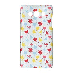 Seamless Colorful Flowers Pattern Samsung Galaxy A5 Hardshell Case