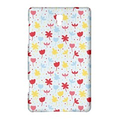 Seamless Colorful Flowers Pattern Samsung Galaxy Tab S (8.4 ) Hardshell Case