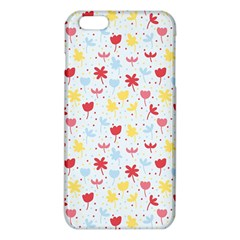 Seamless Colorful Flowers Pattern iPhone 6 Plus/6S Plus TPU Case