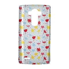 Seamless Colorful Flowers Pattern LG G4 Hardshell Case