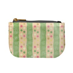 Seamless Colorful Dotted Pattern Mini Coin Purses