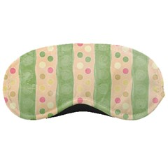 Seamless Colorful Dotted Pattern Sleeping Masks
