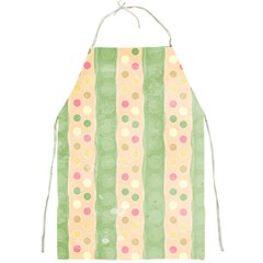Seamless Colorful Dotted Pattern Full Print Aprons