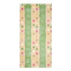 Seamless Colorful Dotted Pattern Shower Curtain 36  x 72  (Stall)