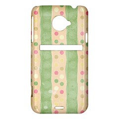 Seamless Colorful Dotted Pattern HTC Evo 4G LTE Hardshell Case