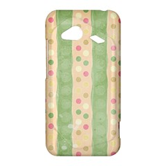 Seamless Colorful Dotted Pattern HTC Droid Incredible 4G LTE Hardshell Case