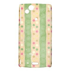 Seamless Colorful Dotted Pattern Sony Xperia Arc