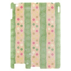 Seamless Colorful Dotted Pattern Apple iPad 2 Hardshell Case