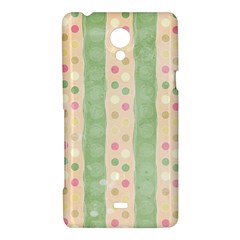 Seamless Colorful Dotted Pattern Sony Xperia T