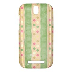 Seamless Colorful Dotted Pattern HTC One SV Hardshell Case
