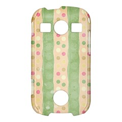 Seamless Colorful Dotted Pattern Samsung Galaxy S7710 Xcover 2 Hardshell Case