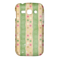 Seamless Colorful Dotted Pattern Samsung Galaxy Ace 3 S7272 Hardshell Case