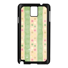 Seamless Colorful Dotted Pattern Samsung Galaxy Note 3 N9005 Case (Black)
