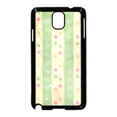 Seamless Colorful Dotted Pattern Samsung Galaxy Note 3 Neo Hardshell Case (Black)