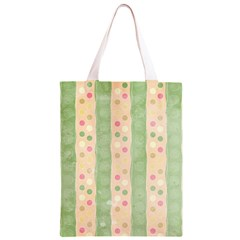 Seamless Colorful Dotted Pattern Classic Light Tote Bag