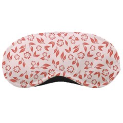 Red Seamless Floral Pattern Sleeping Masks
