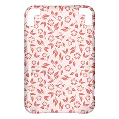 Red Seamless Floral Pattern Kindle 3 Keyboard 3G
