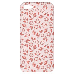 Red Seamless Floral Pattern Apple iPhone 5 Hardshell Case