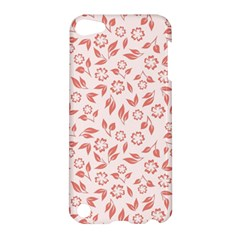 Red Seamless Floral Pattern Apple iPod Touch 5 Hardshell Case