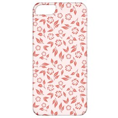 Red Seamless Floral Pattern Apple iPhone 5 Classic Hardshell Case