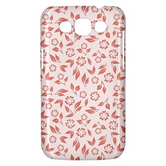 Red Seamless Floral Pattern Samsung Galaxy Win I8550 Hardshell Case