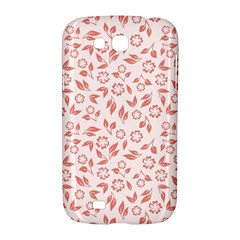 Red Seamless Floral Pattern Samsung Galaxy Grand GT-I9128 Hardshell Case